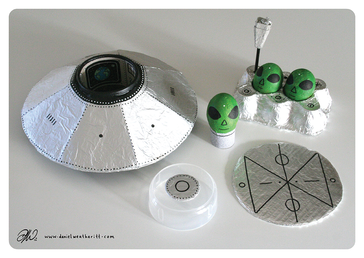 <b>Cosmic Surfer UFO</b> - Junk Modelling and Activities Creative Resource - Page 36 of 46