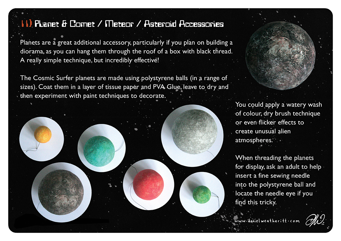 <b>Cosmic Surfer UFO</b> - Junk Modelling and Activities Creative Resource - Page 34 of 46