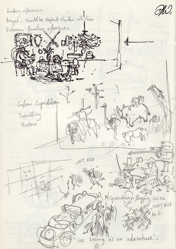 <b>Sketchbook Compilation V1</b> - Selected works and project notes - 19 of 24