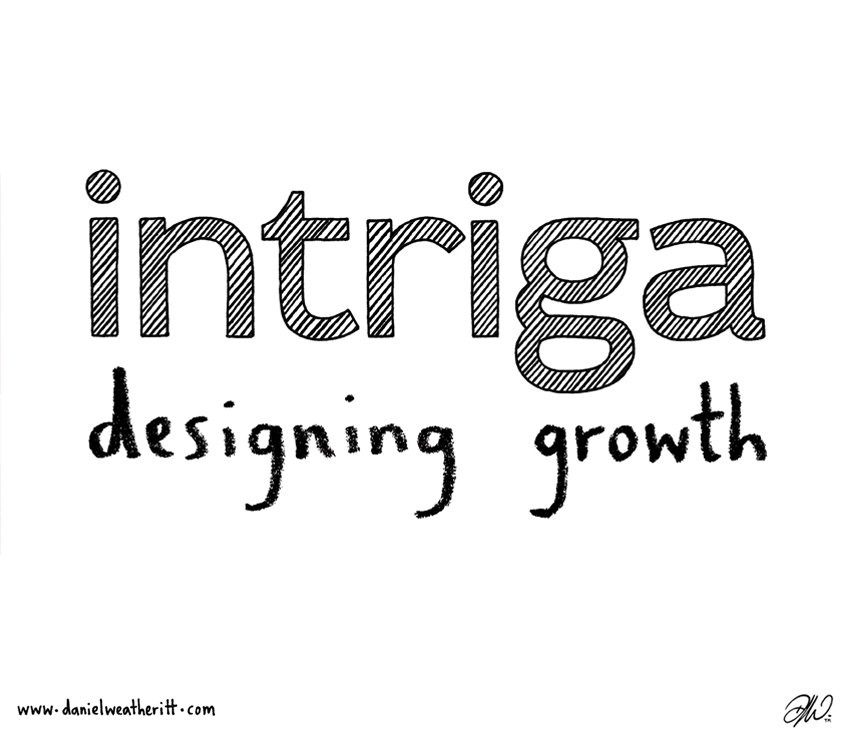 <b>Intriga</b> - Branding & Website Design - 3 of 6