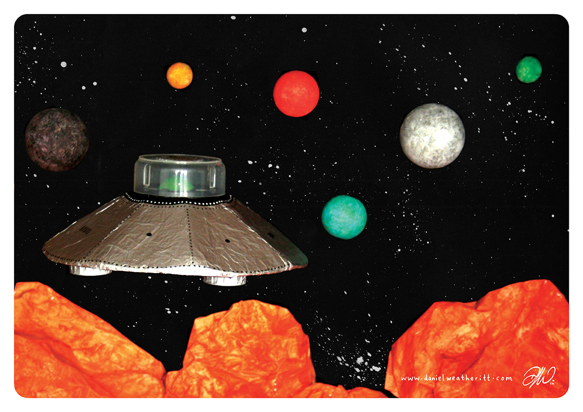 <b>Cosmic Surfer UFO</b> - Junk Modelling and Activities Creative Resource - Page 35 of 46