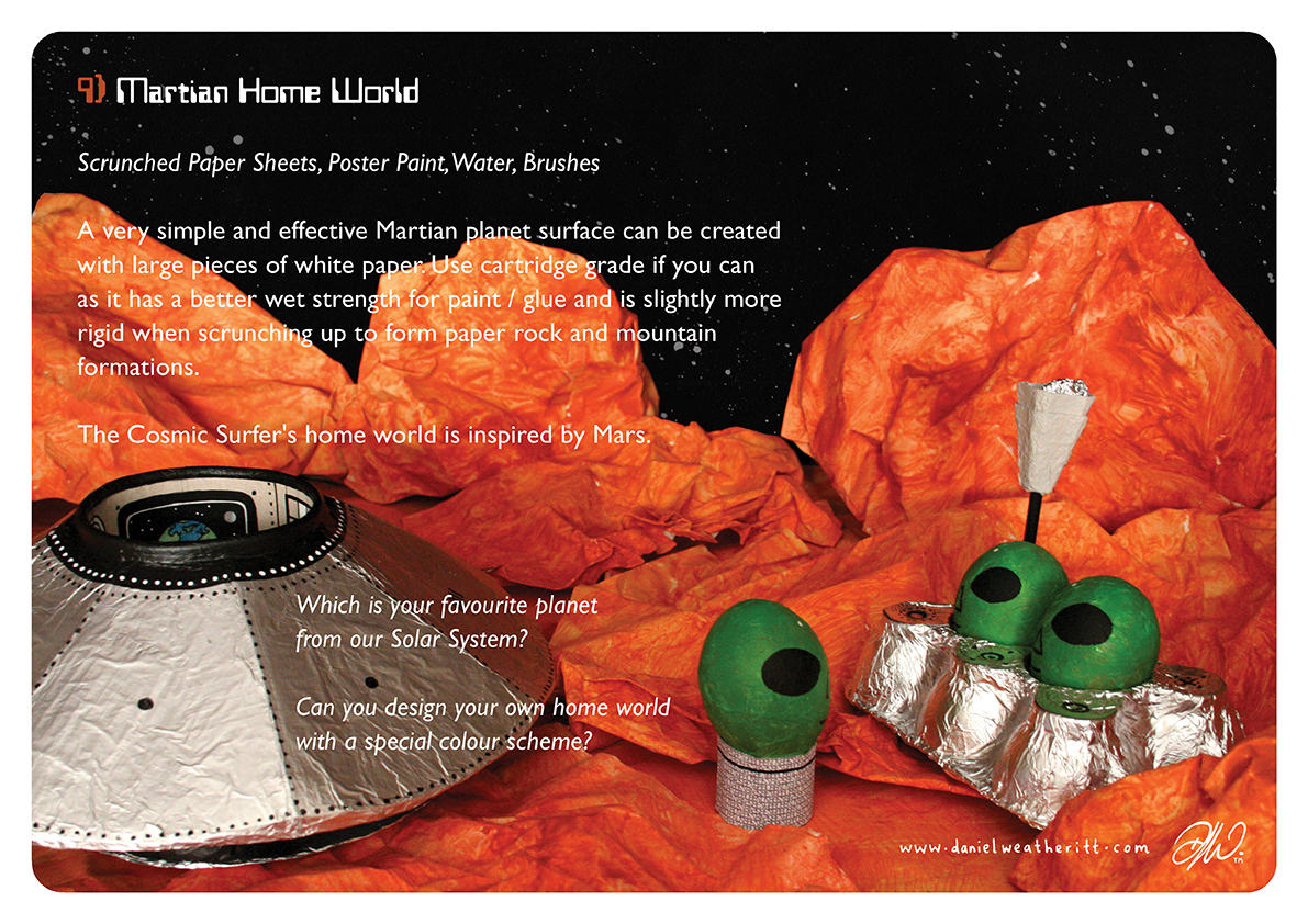 <b>Cosmic Surfer UFO</b> - Junk Modelling and Activities Creative Resource - Page 31 of 46