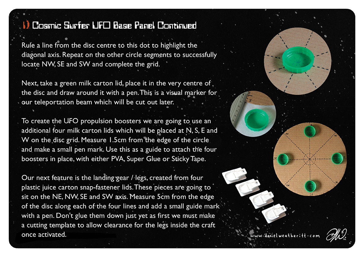 <b>Cosmic Surfer UFO</b> - Junk Modelling and Activities Creative Resource - Page 11 of 46