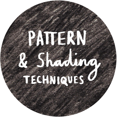 <b>Pattern & Shading Techniques</b> - Can you incorporate some of these techniques into your creative projects?