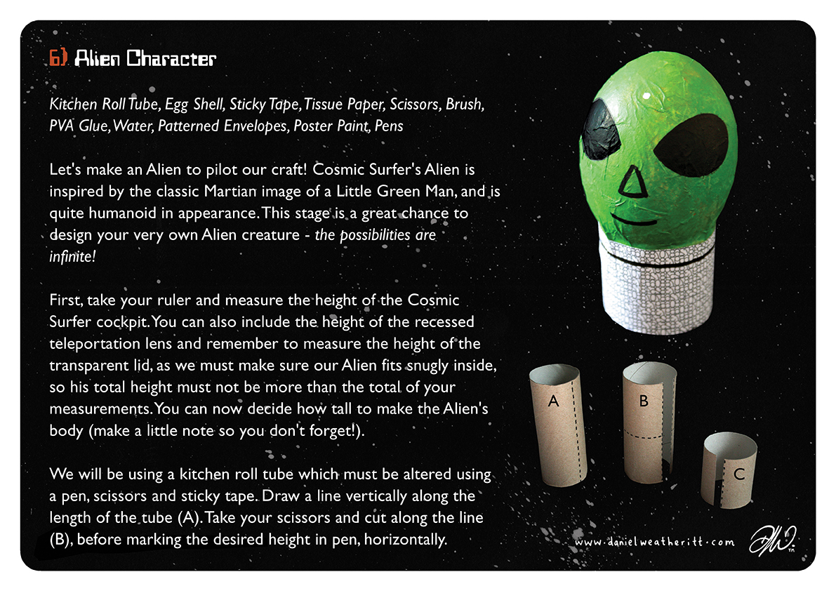 <b>Cosmic Surfer UFO</b> - Junk Modelling and Activities Creative Resource - Page 25 of 46