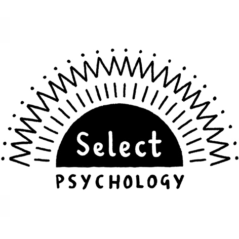 <b>Select Psychology</b> - Branding, Marketing and Illustrations