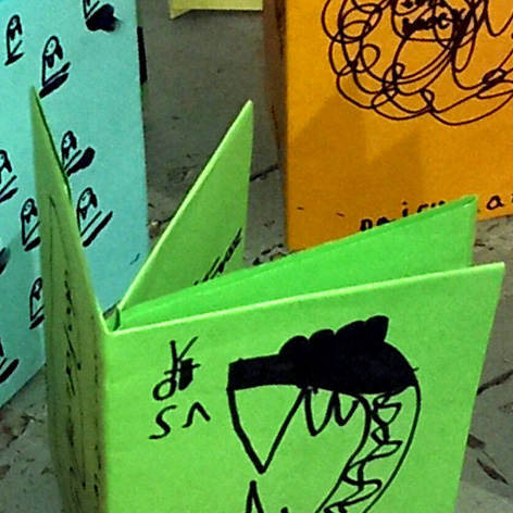 <b>Paper Folding, Zine Making & Illustration</b> - at the Old School Gallery, Alnmouth
