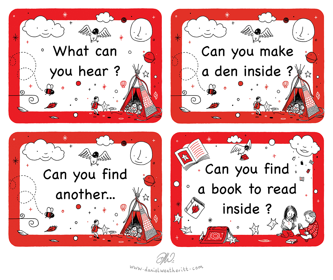 <b>Action for Children</b> - Early Years Teepee Activity Cards - Space - 4 of 4