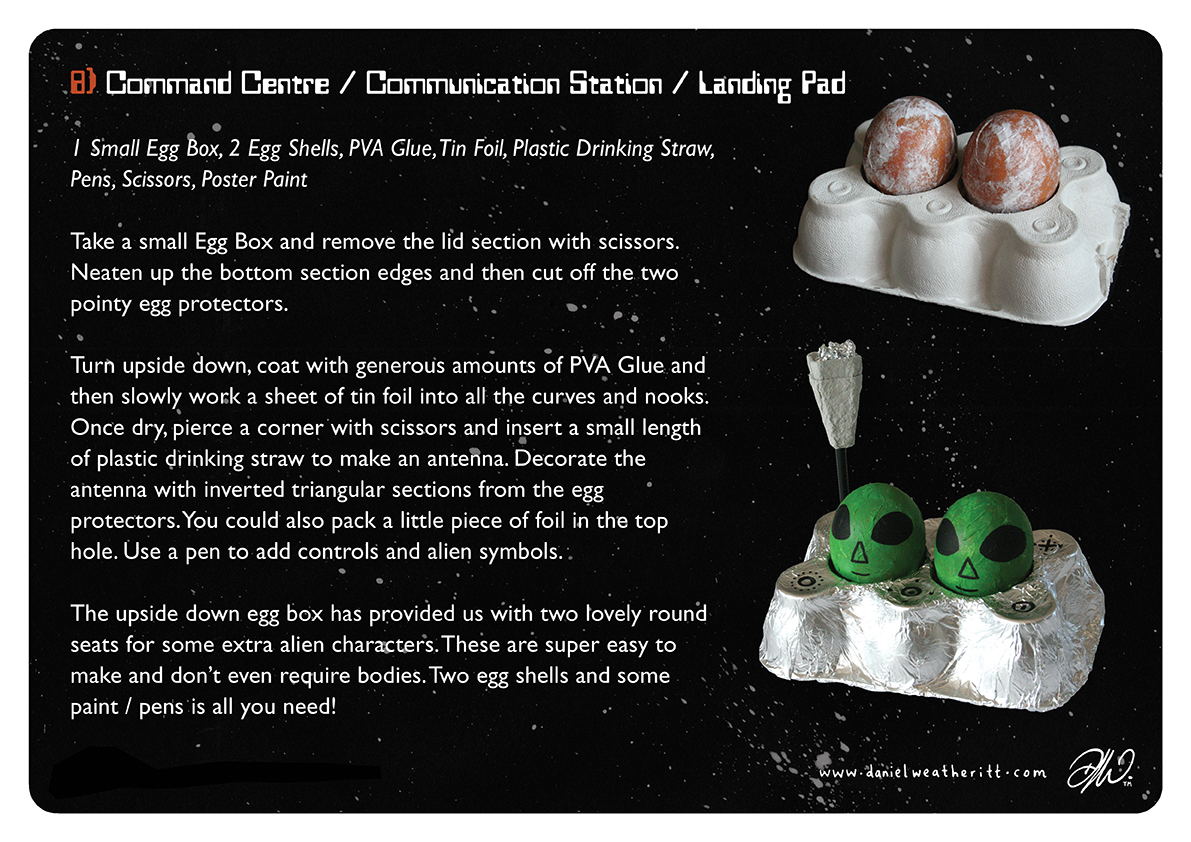 <b>Cosmic Surfer UFO</b> - Junk Modelling and Activities Creative Resource - Page 29 of 46
