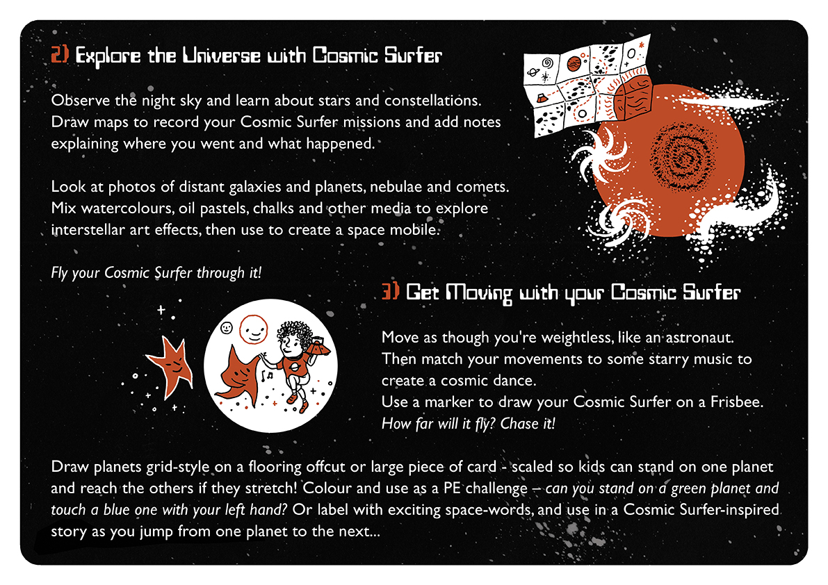 <b>Cosmic Surfer UFO</b> - Junk Modelling and Activities Creative Resource - Page 6 of 46