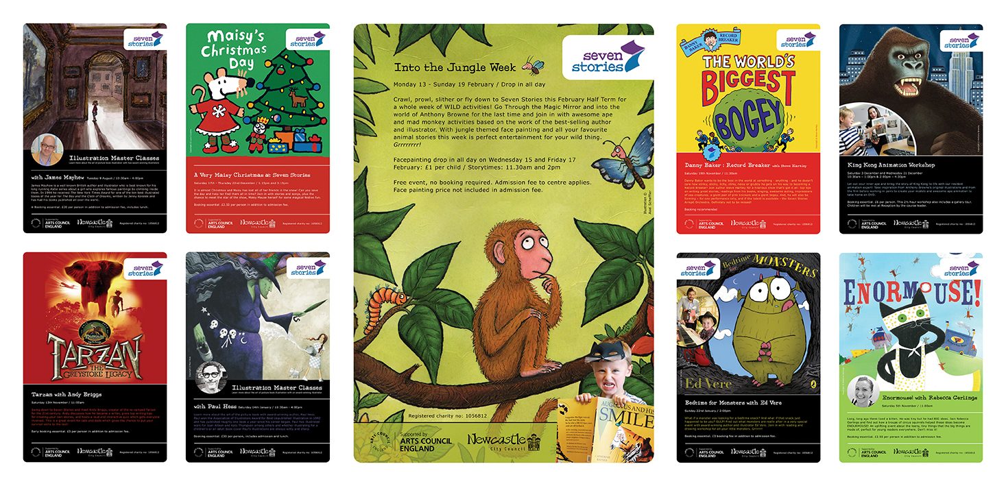 <b>Seven Stories Centre for Children's Books</b> - Event Posters - 2 of 2