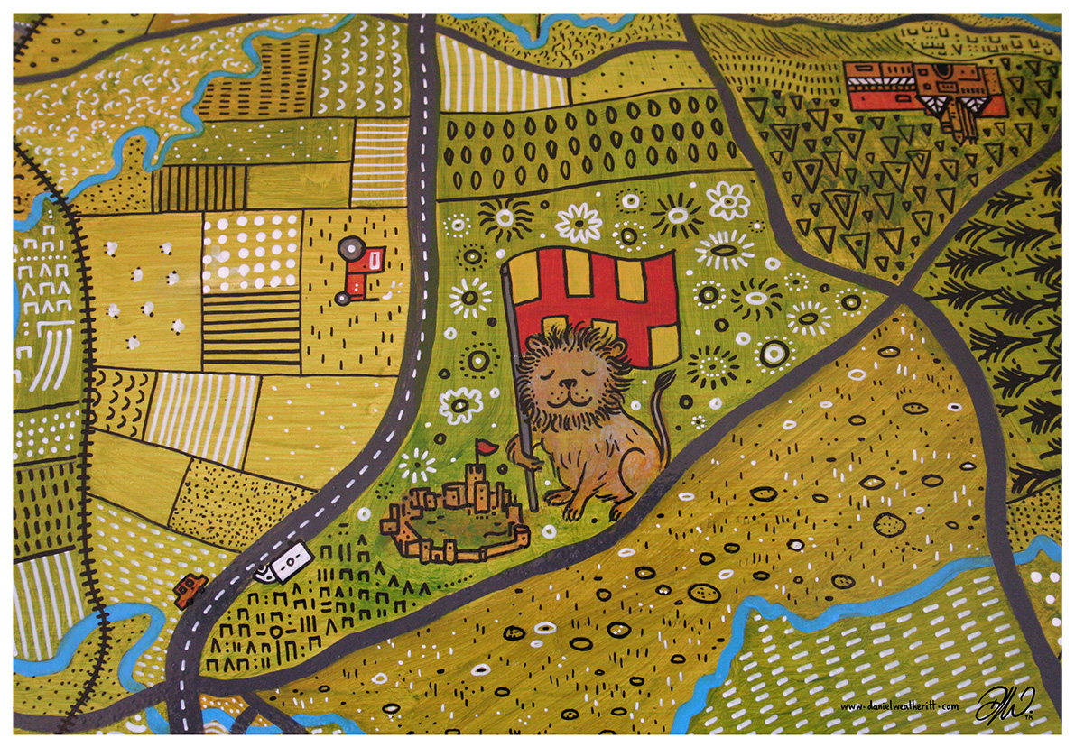 <b>Great North Snow Dogs</b> - Patchwork Northumberland Close-up - 11 of 18