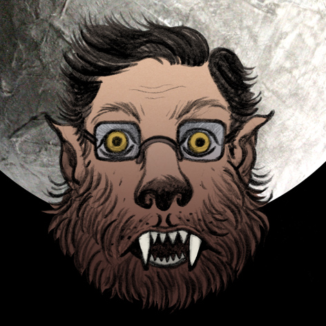 <b>The Night I Turned Into A Werewolf</b> - Movie Poster Design