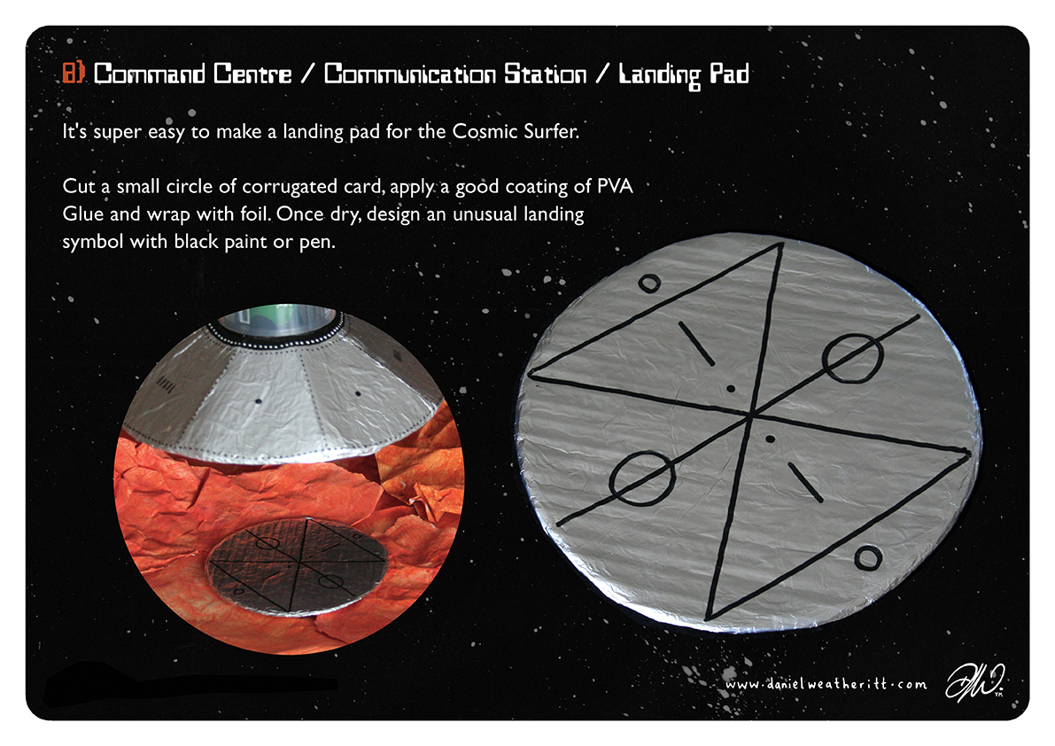 <b>Cosmic Surfer UFO</b> - Junk Modelling and Activities Creative Resource - Page 30 of 46