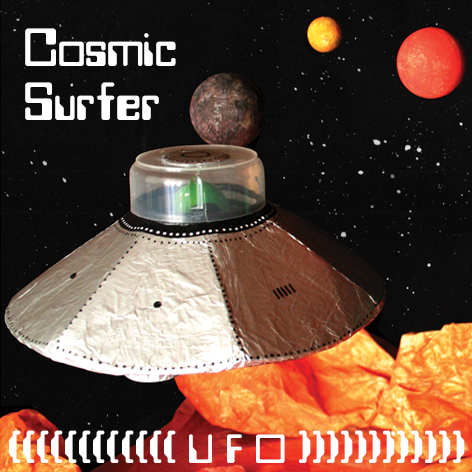<b>Cosmic Surfer UFO</b> - Junk Modelling and Activities Creative Resource - Page 1 of 46