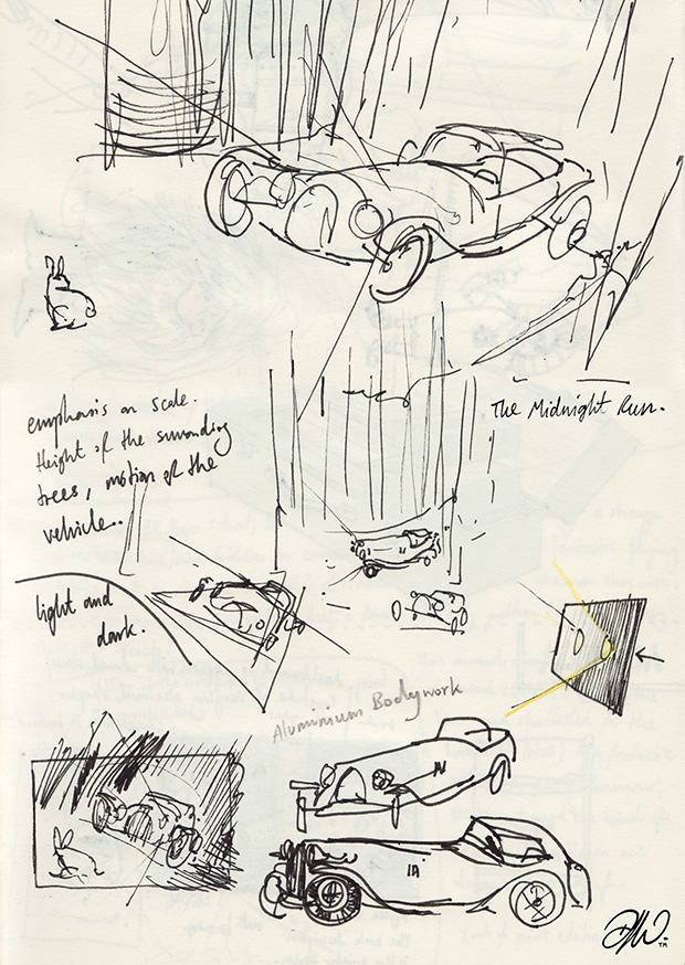 <b>Sketchbook Compilation V1</b> - Selected works and project notes - 4 of 24