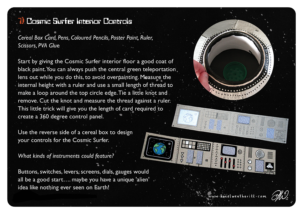 <b>Cosmic Surfer UFO</b> - Junk Modelling and Activities Creative Resource - Page 27 of 46