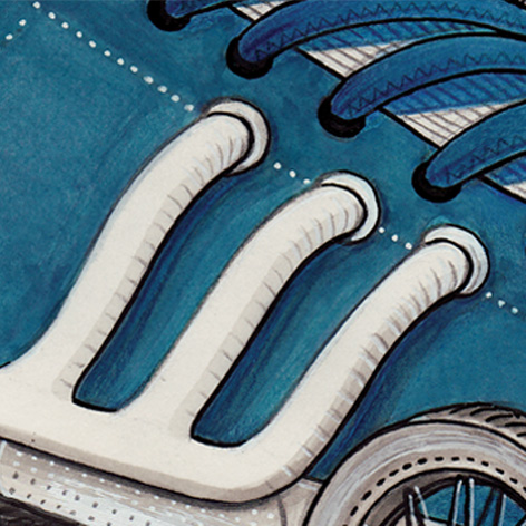 <b>Adidas</b> - Grand Prix Illustration