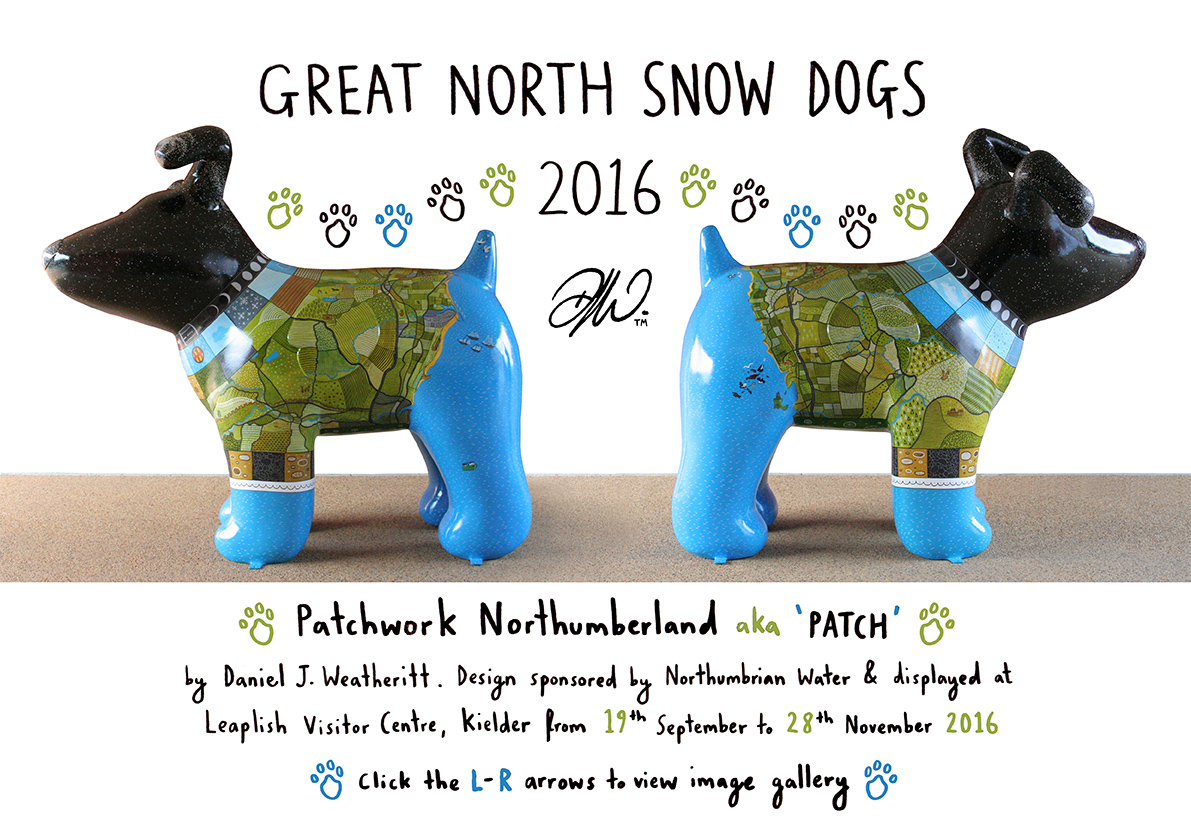 <b>Great North Snow Dogs</b> - Patchwork Northumberland Overview - 2 of 18