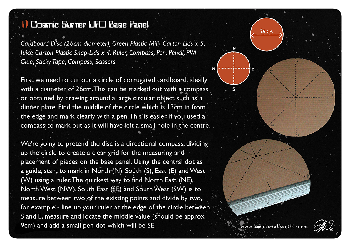 <b>Cosmic Surfer UFO</b> - Junk Modelling and Activities Creative Resource - Page 10 of 46