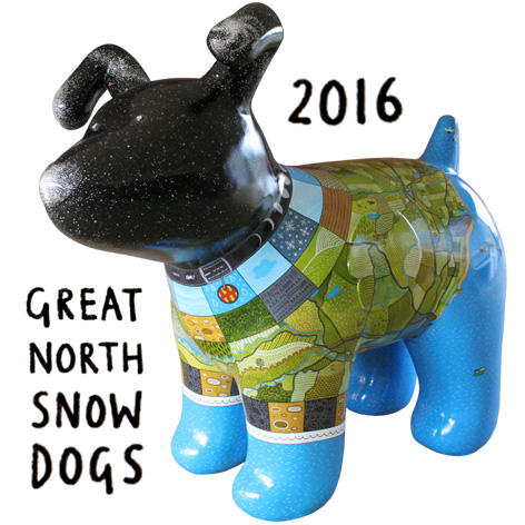 <b>Great North Snow Dogs</b> - Patchwork Northumberland Overview - 1 of 18