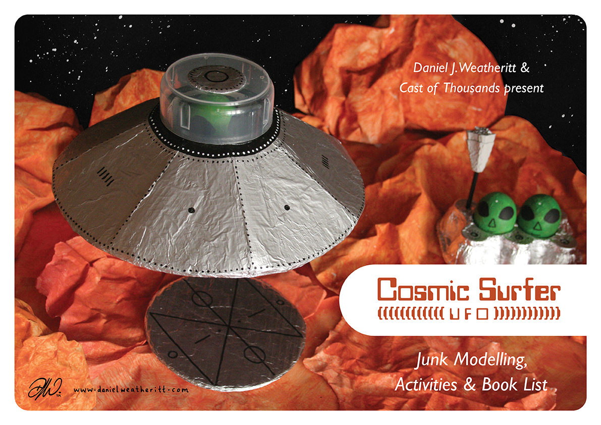 <b>Cosmic Surfer UFO</b> - Junk Modelling and Activities Creative Resource - Page 2 of 46