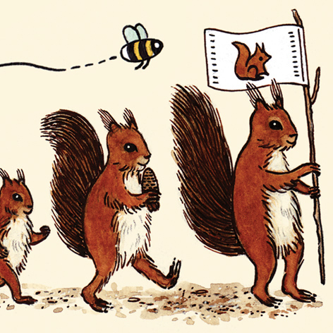 <b>Northumberland Wildlife Trust</b> - Red Squirrel Appeal Booklet 2015 - 1 of 2