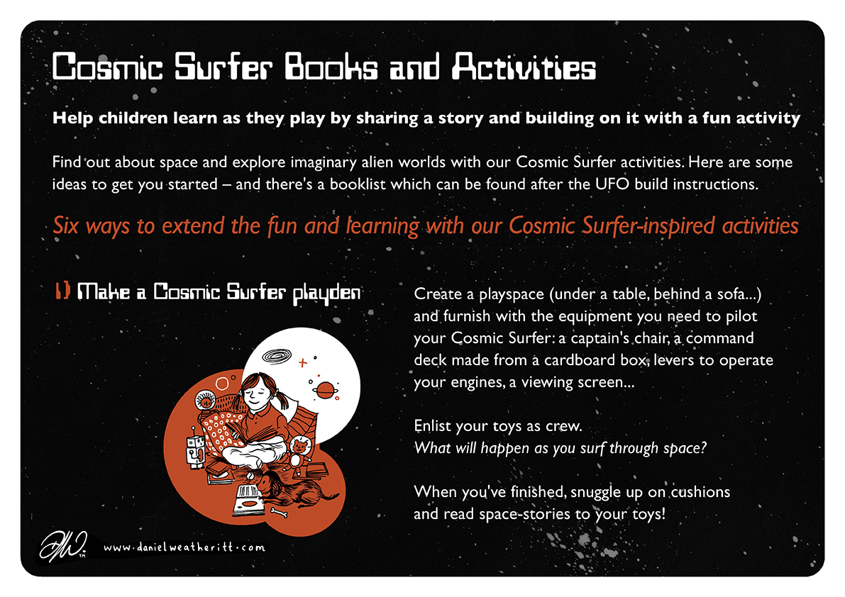 <b>Cosmic Surfer UFO</b> - Junk Modelling and Activities Creative Resource - Page 5 of 46