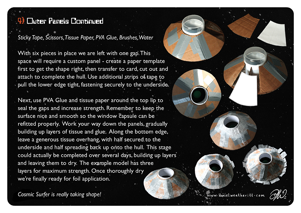 <b>Cosmic Surfer UFO</b> - Junk Modelling and Activities Creative Resource - Page 20 of 46