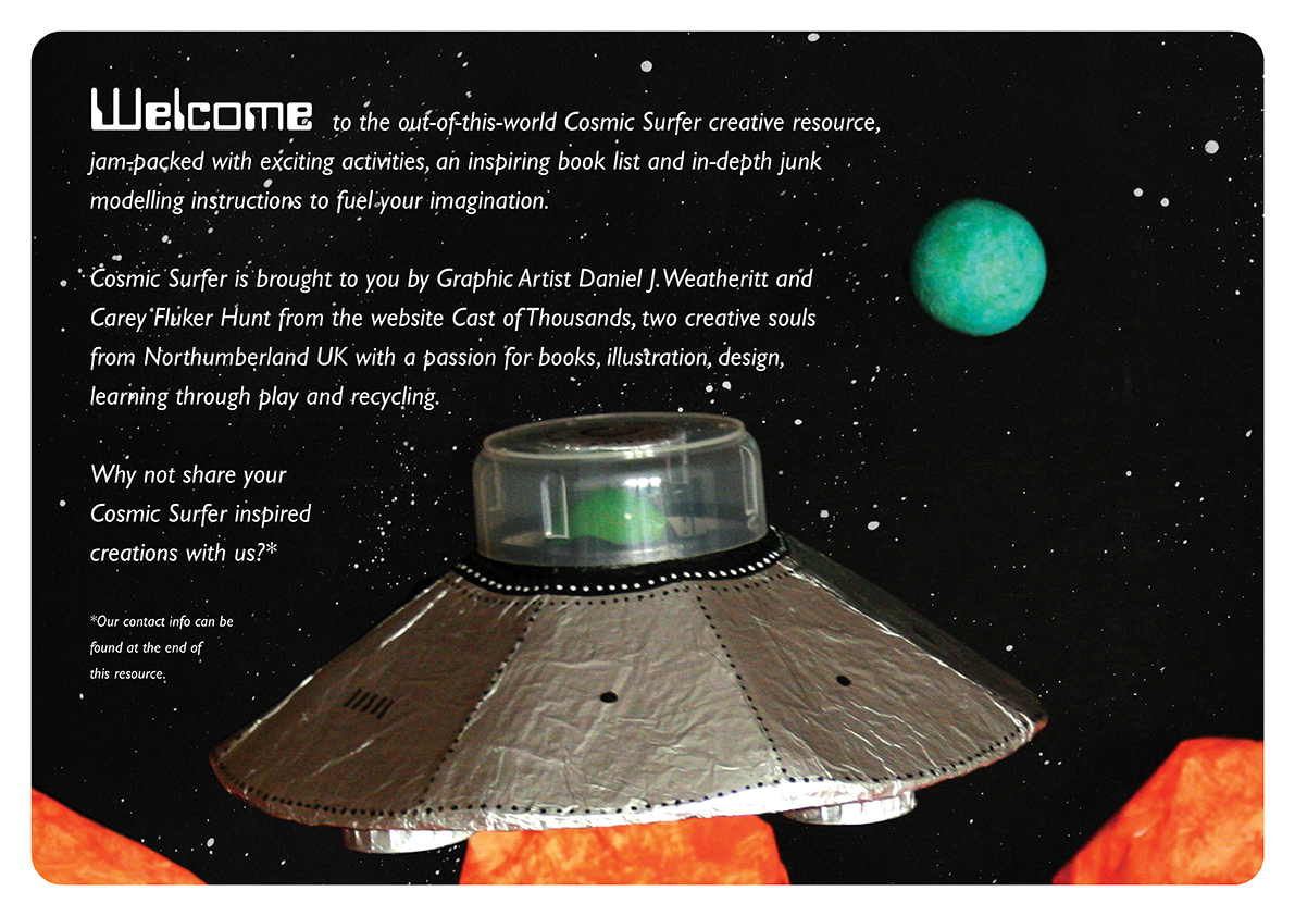 <b>Cosmic Surfer UFO</b> - Junk Modelling and Activities Creative Resource - Page 4 of 46