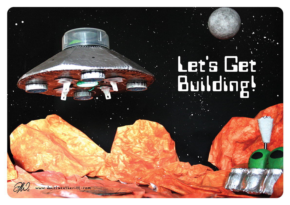 <b>Cosmic Surfer UFO</b> - Junk Modelling and Activities Creative Resource - Page 9 of 46