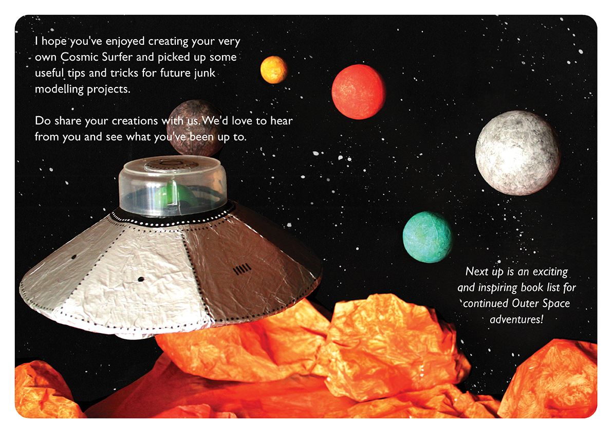 <b>Cosmic Surfer UFO</b> - Junk Modelling and Activities Creative Resource - Page 40 of 46