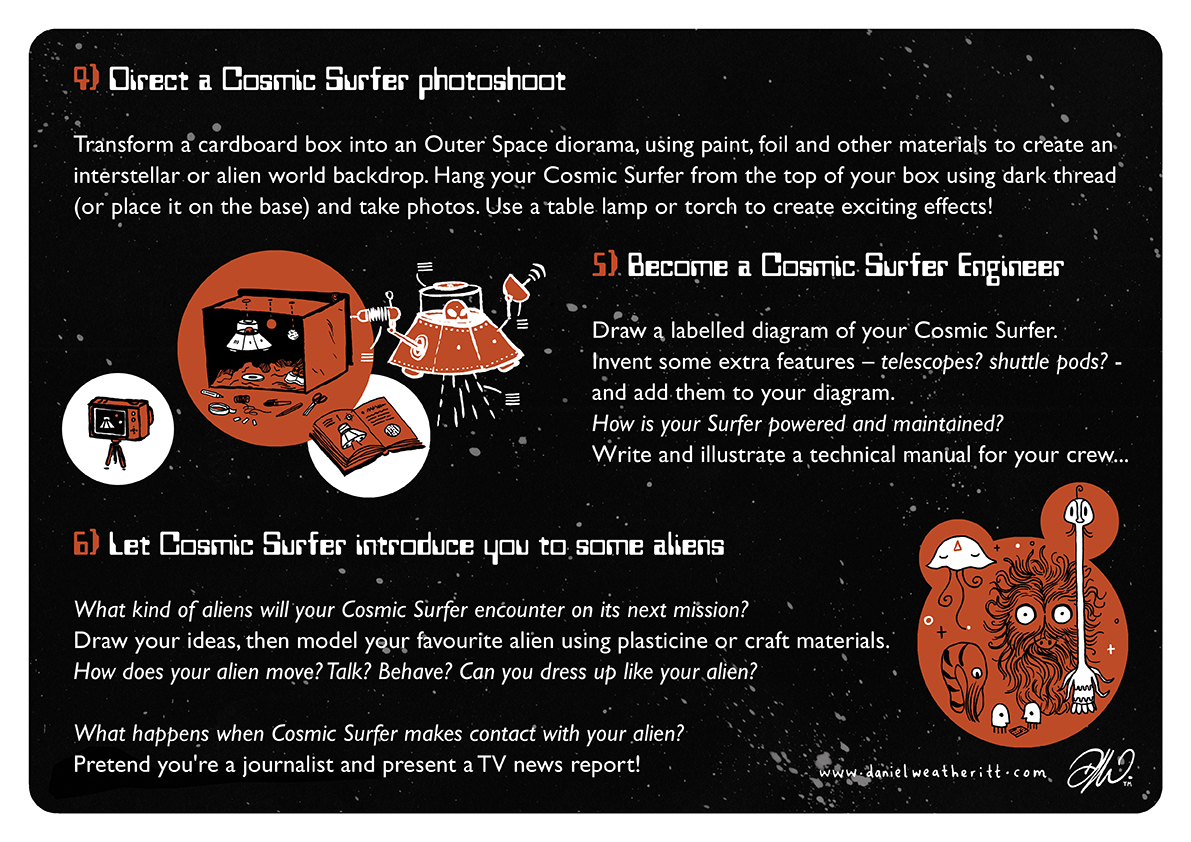 <b>Cosmic Surfer UFO</b> - Junk Modelling and Activities Creative Resource - Page 7 of 46