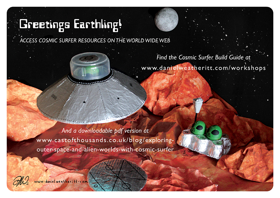 <b>Cosmic Surfer UFO</b> - Junk Modelling and Activities Creative Resource - Page 3 of 46