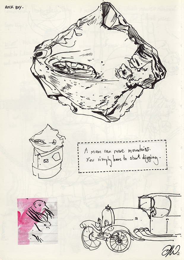 <b>Sketchbook Compilation V1</b> - Selected works and project notes - 12 of 24